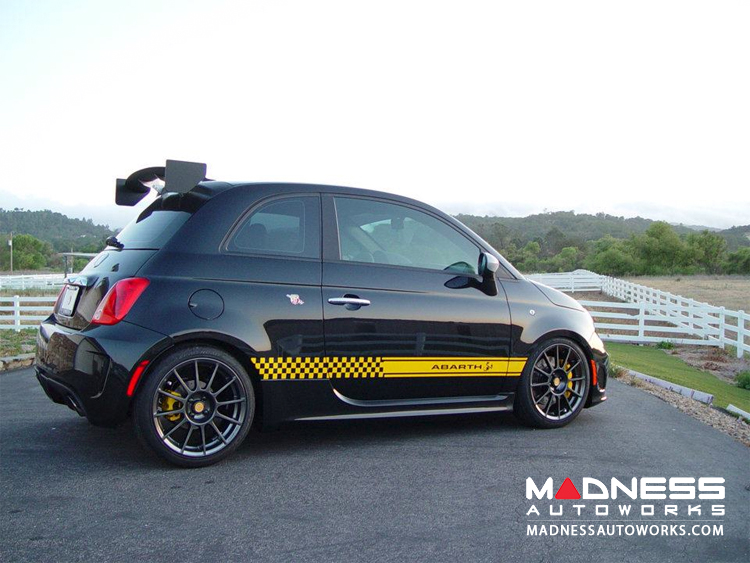 ABARTH Yellow Side Decal